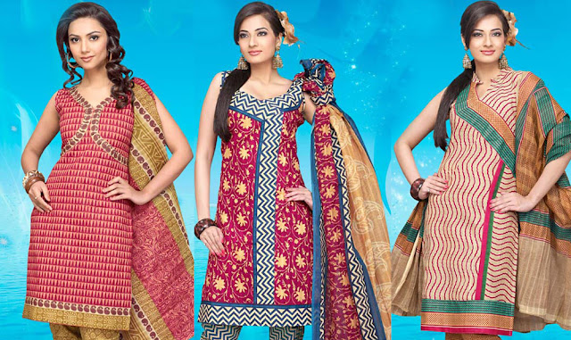 cotton salwar neck designs