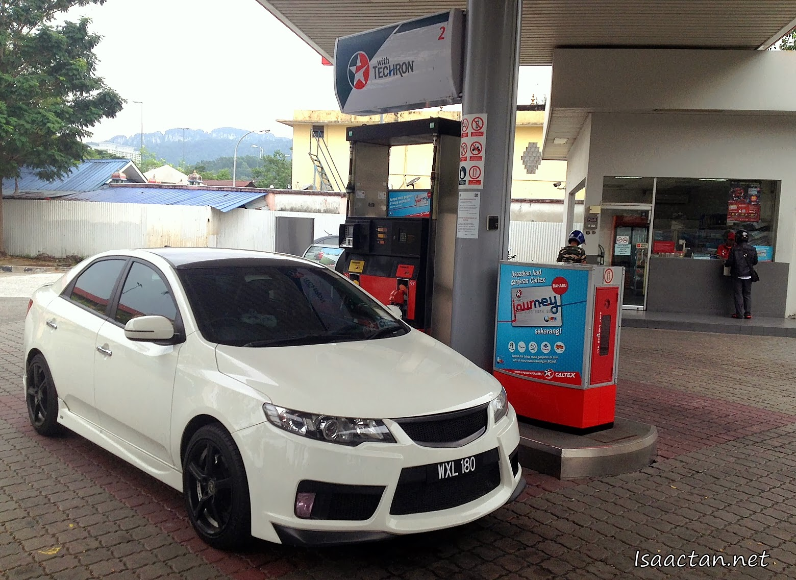 Drove up to the nearest Caltex station the other day for some petrol