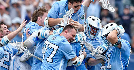 UNC Men's Lacrosse Team - 2016 National Champions