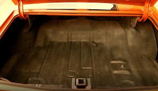 1971 Chevrolet Chevelle Malibu SS Luggage