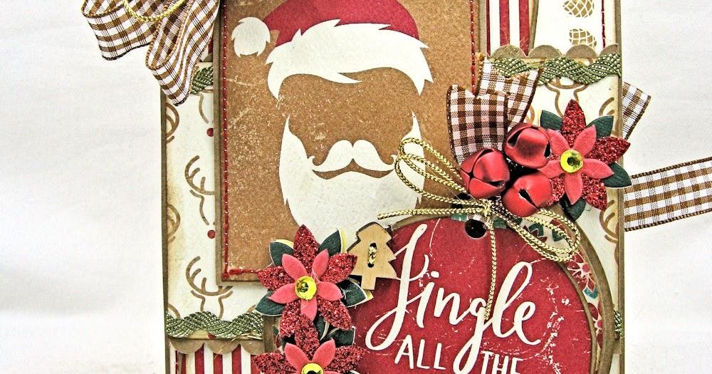 Colorful Christmas Jingle All The Way Folio Tutorial