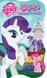 MLP Rarity's Fashion and Style Book Media