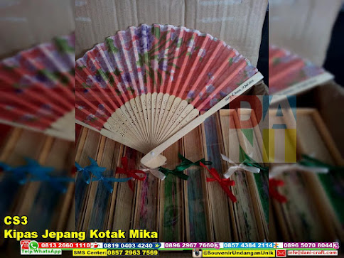 jual Kipas Jepang Kotak Mika