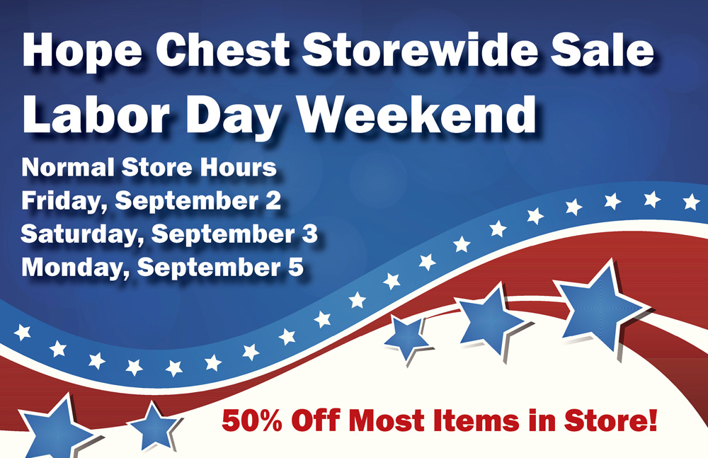 News and events of hope healthcare services for Labor day weekend furniture sales