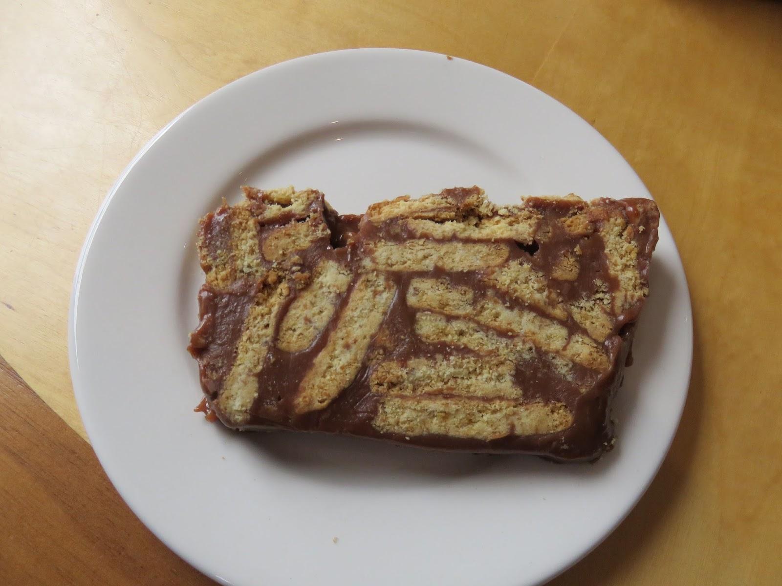 Ireland Am Chocolate Biscuit Cake