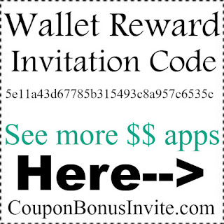 Wallet Reward Invitation Code 2017, Wallet Reward app Reviews, Wallet Reward Referral Code 2017