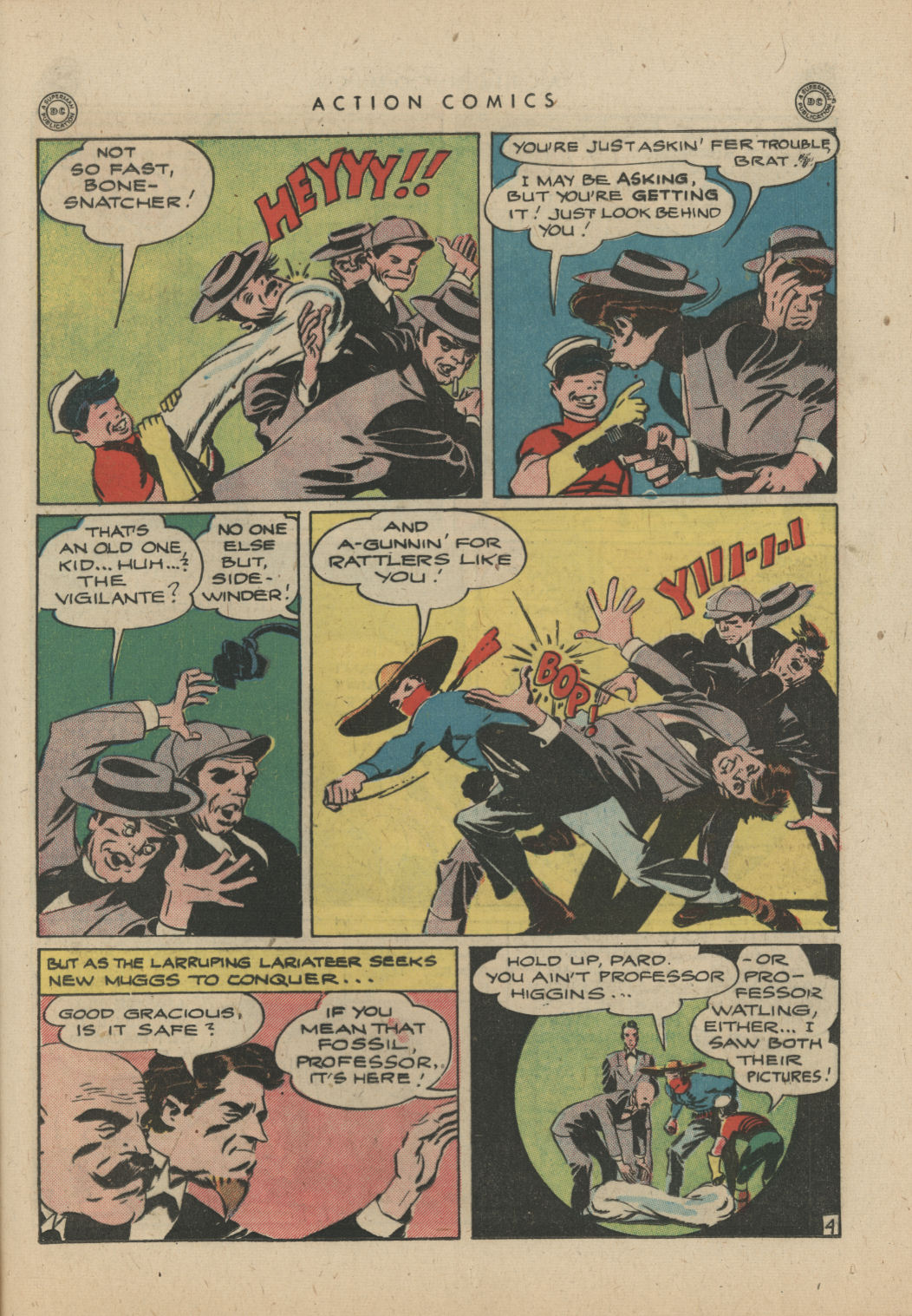 Read online Action Comics (1938) comic -  Issue #83 - 34