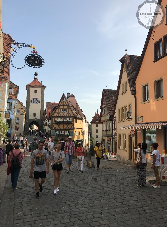 Rothenburg Ob Der Tauber, na Rota Romântica da Alemanha