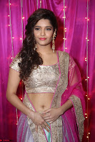 Ritika Sing in Golden Pink Choli Ghagra Cute Actress Ritika Sing ~  020.JPG