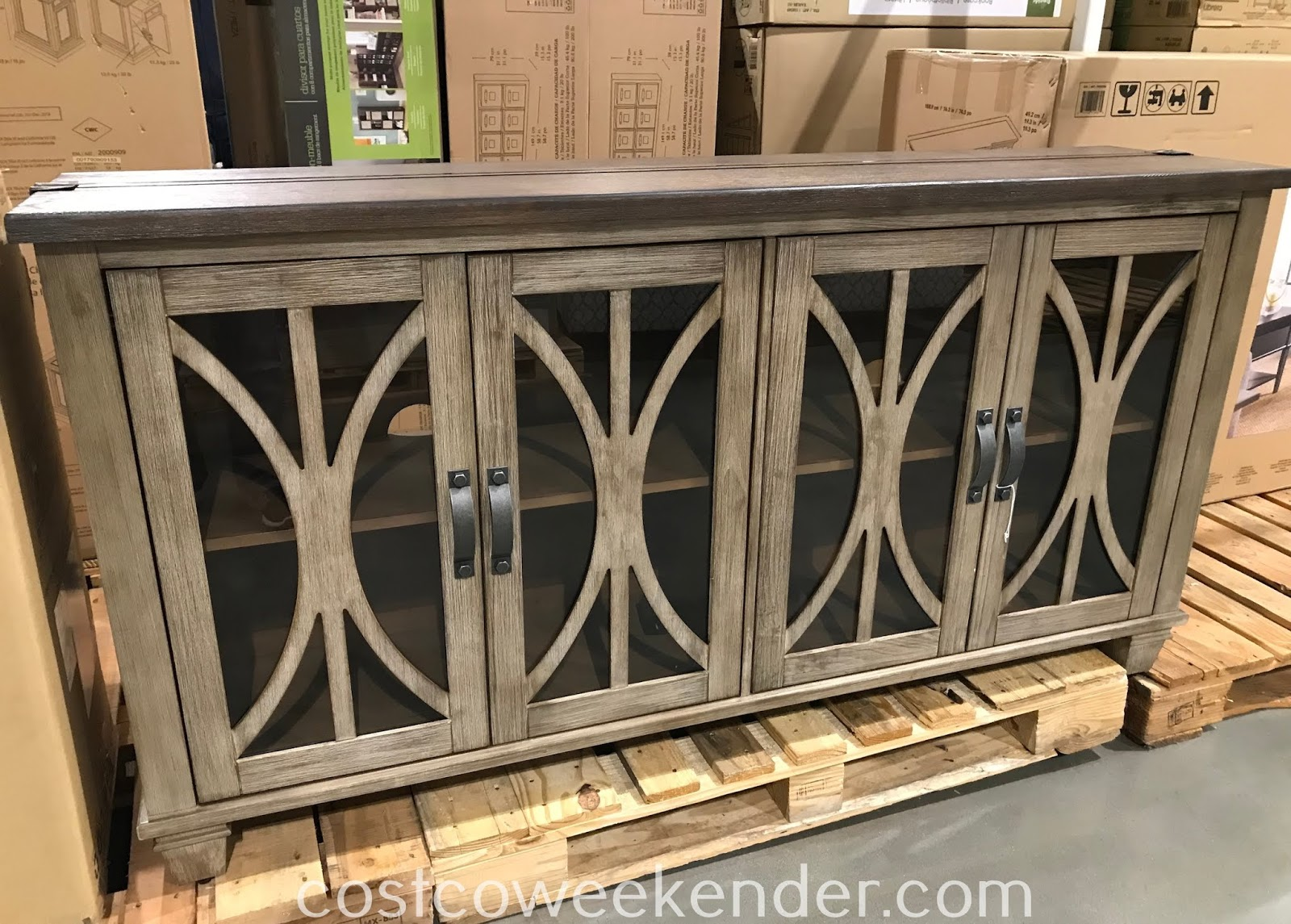 Furnish your home's living room with the Martin Home Accent Console