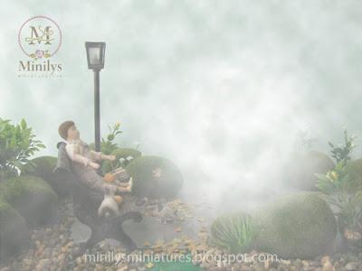 """minilys miniatures"" ""garden"" ""fantasy"" 1:12"