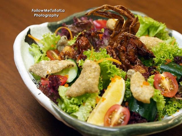 Soft Shell Crab Salada RM 28
