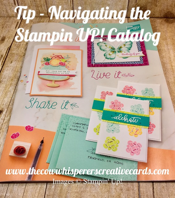 Tip, Navigating Stamping UP Catalog