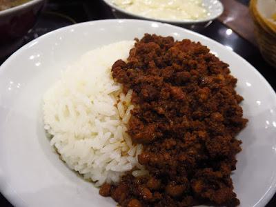 Old Street Bak Kut Teh, minced meat rice