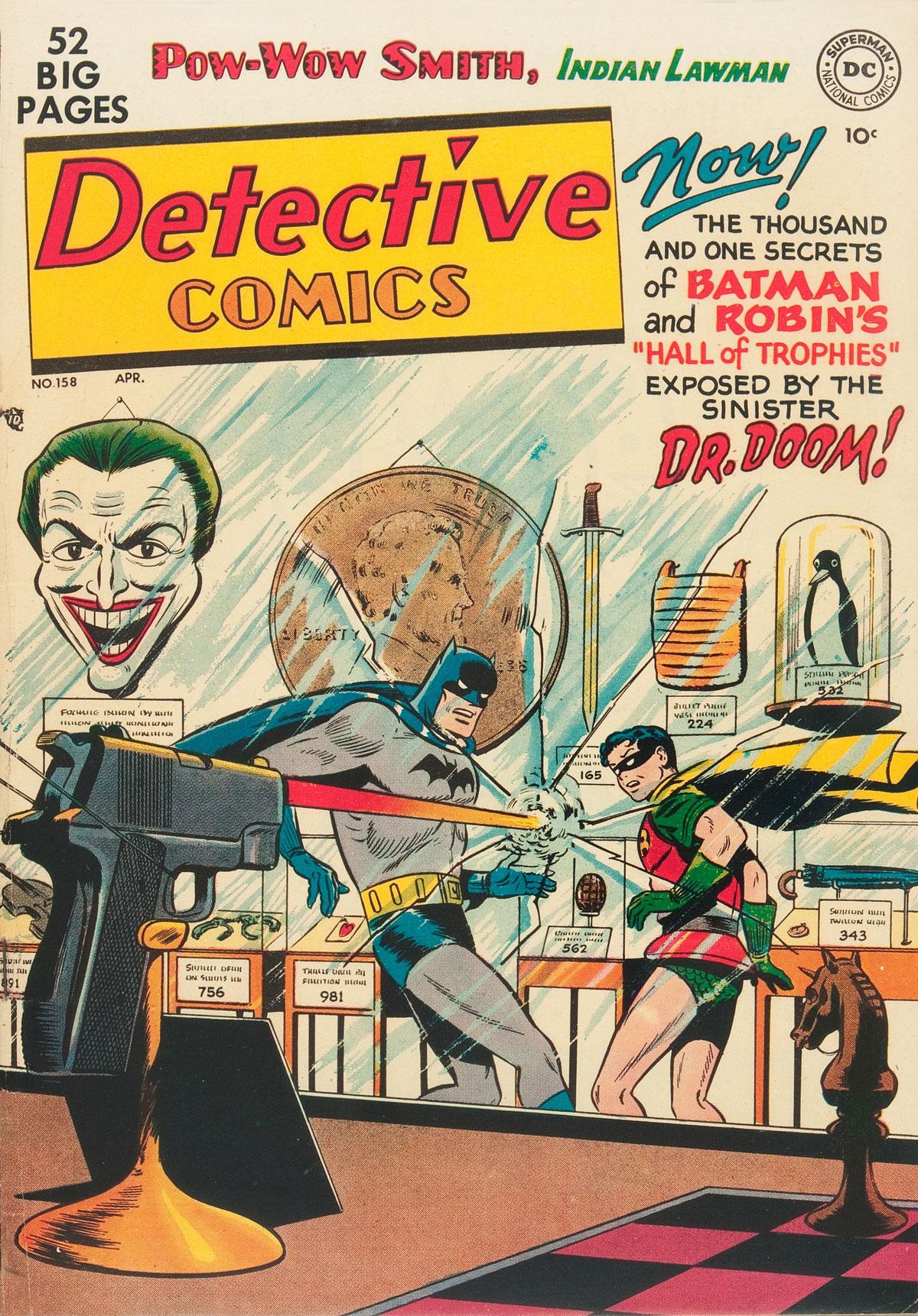 Detective Comics (1937) 158 Page 1