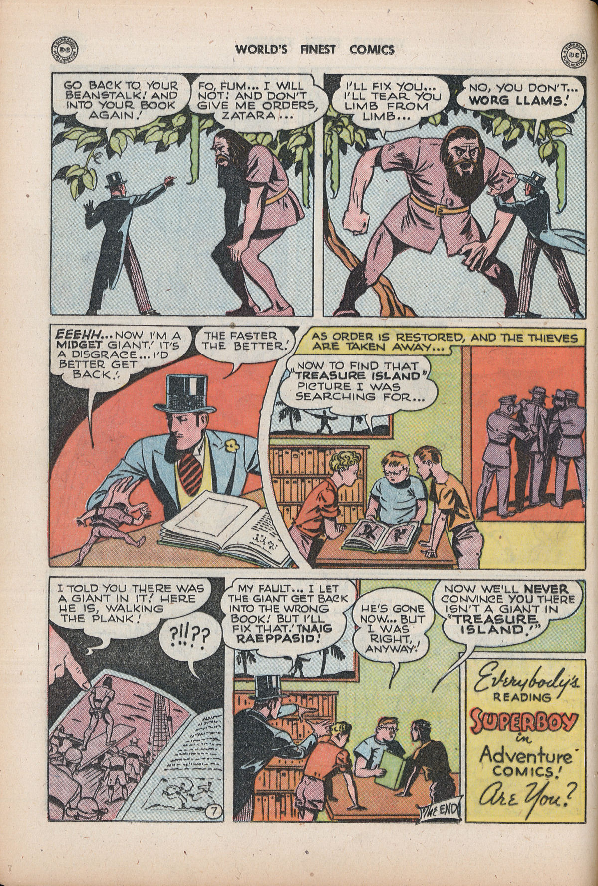 Read online World's Finest Comics comic -  Issue #32 - 34