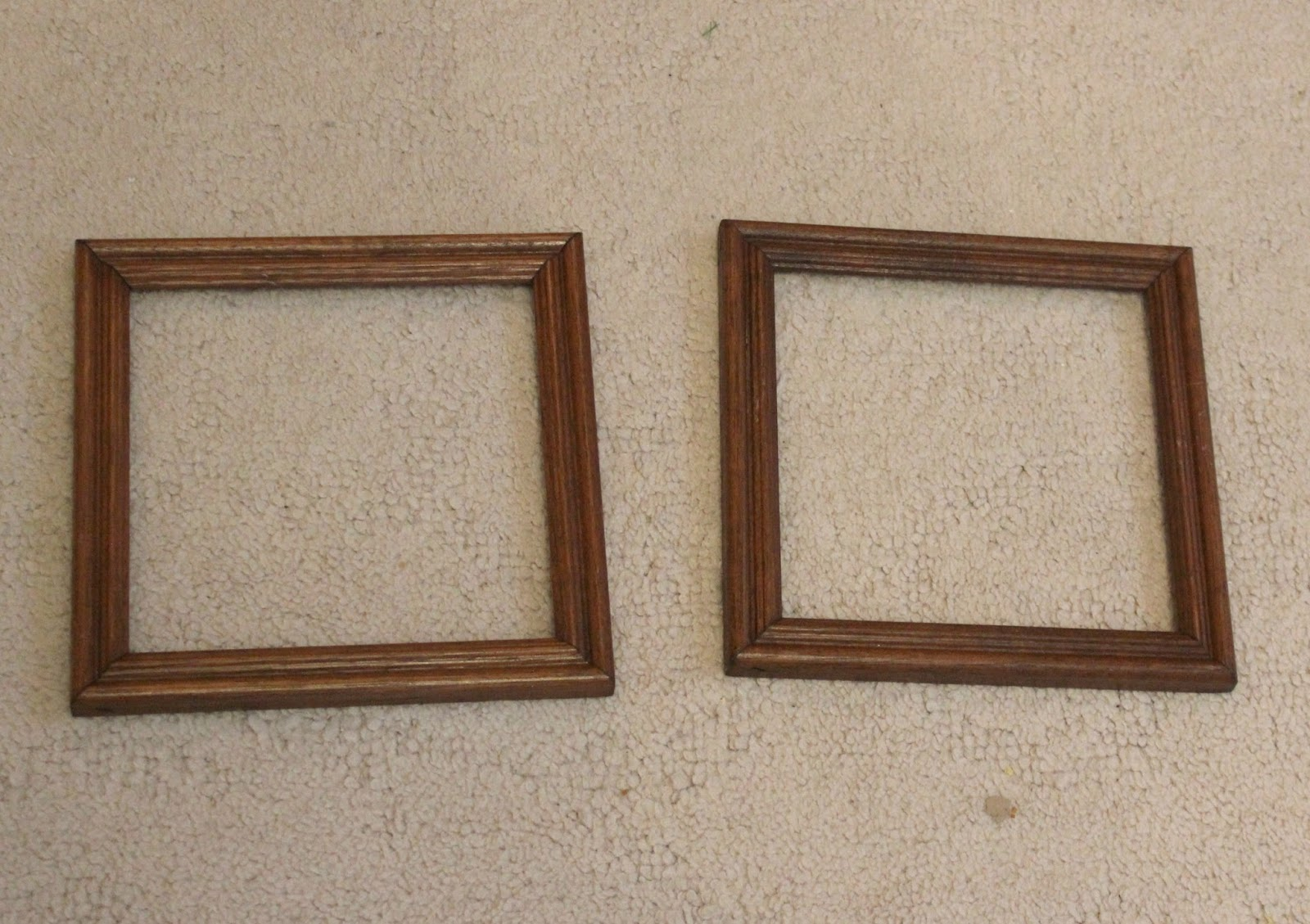 Thrift Shop Frames to Valentine\'s Day Wall Decor   Organized Clutter