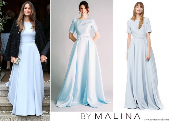 Princess Sofia wore By Malina Lorenza gown