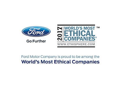 Ethisphere Names Ford Among World's Most Ethical Companies