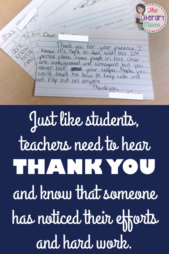 even better than gifts for teachers during teacher appreciation week is the simple recognition of their