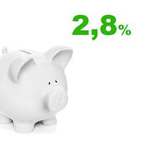 konto oszczędnościowe na dobry początek 2,8% getin bank