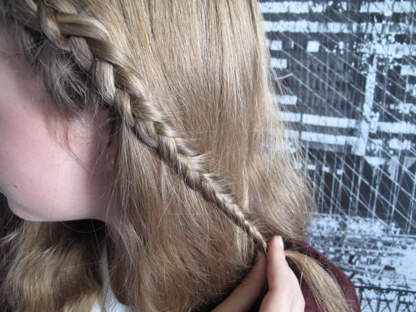 Tuto Coiffure Facile Queue De Cheval Romane And Margaux Lifestyle Blog Tuto Coiffure Une