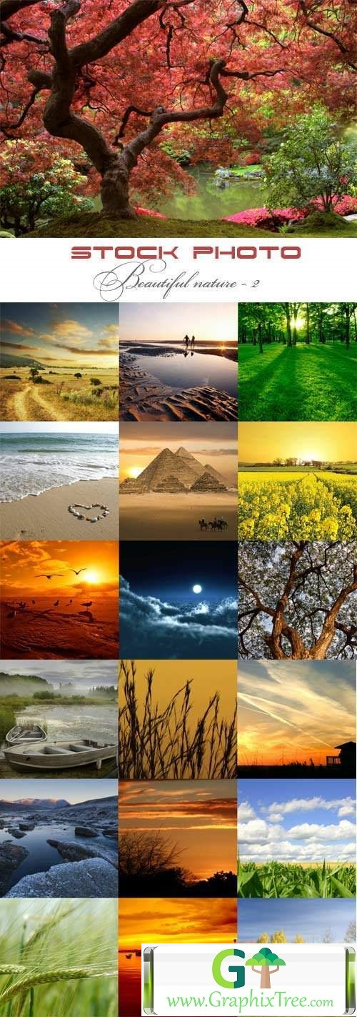 Beautiful nature raster graphics - 2