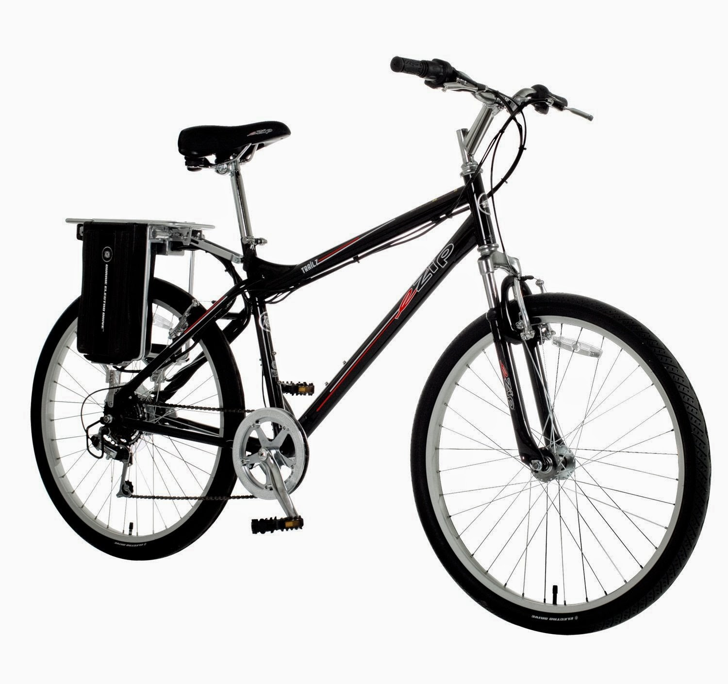 Currie Technologies eZip Men's Trailz Electric Bicycle, review, reaches speeds up to 15 mph, with a range of 15-22 miles per charge