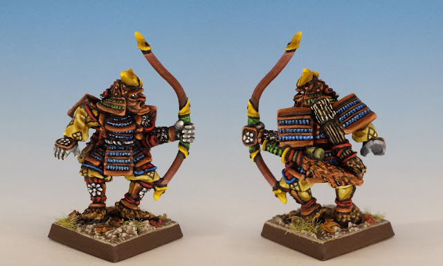 Talisman Samurai, Citadel (1986, sculpted by Aly Morrison)