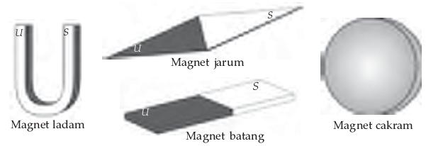 berbagai bentuk magnet