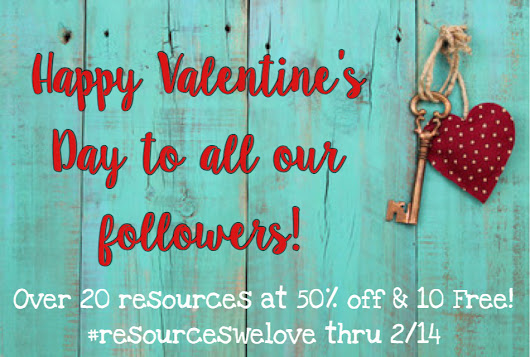 February Favorites and Freebies #resourceswelove