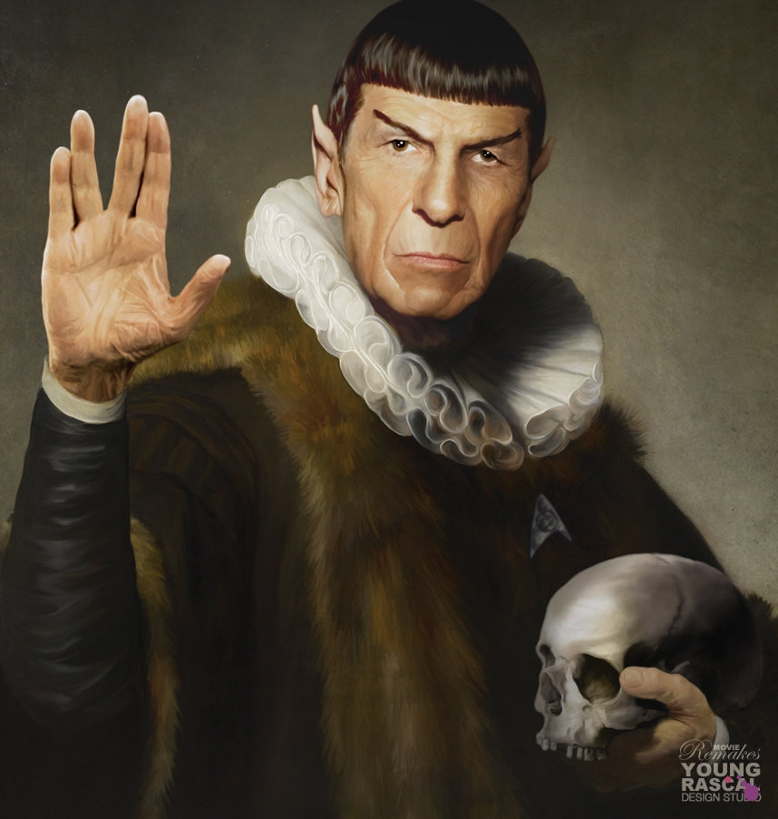 04-Live-long-and-prosper-Richard-Kingston-Old-Masters-Paintings-with-a-Science-fiction-Twist-www-designstack-co