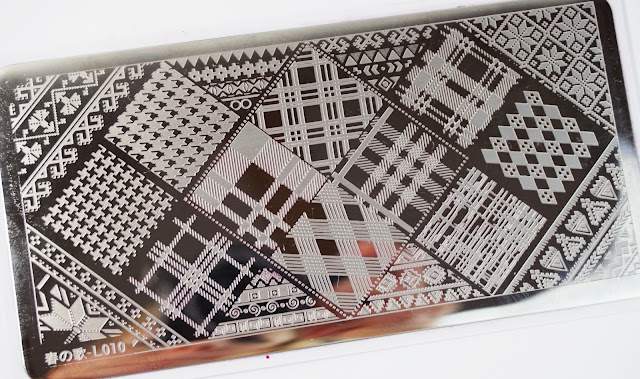 Stamping Plate L010 Born Pretty Store, nurbesten