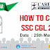 ALL INDIA SEMINAR :How to Prepare for SSC CGL 2017