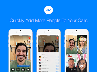 We just made it easier to add more friends and family to your Messenger audio and video chats