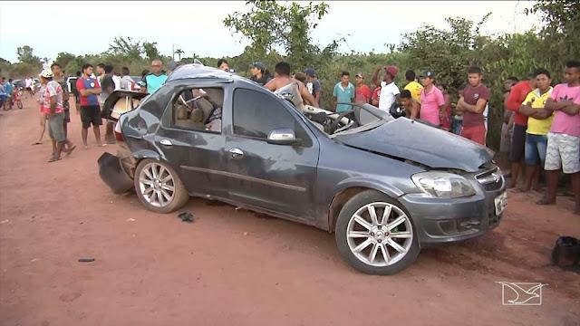 Acidente automobilístico deixa dois mortos em Pindaré Mirim