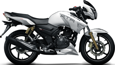 TVS Apache RTR 160 side look