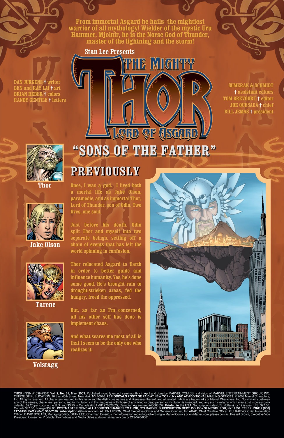 Thor (1998) Issue #61 #62 - English 2