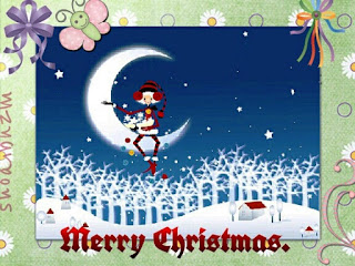 Kartu Ucapan Natal Merry Christmas 80016