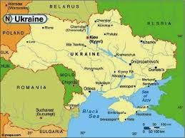 Peta Negara Ukraina