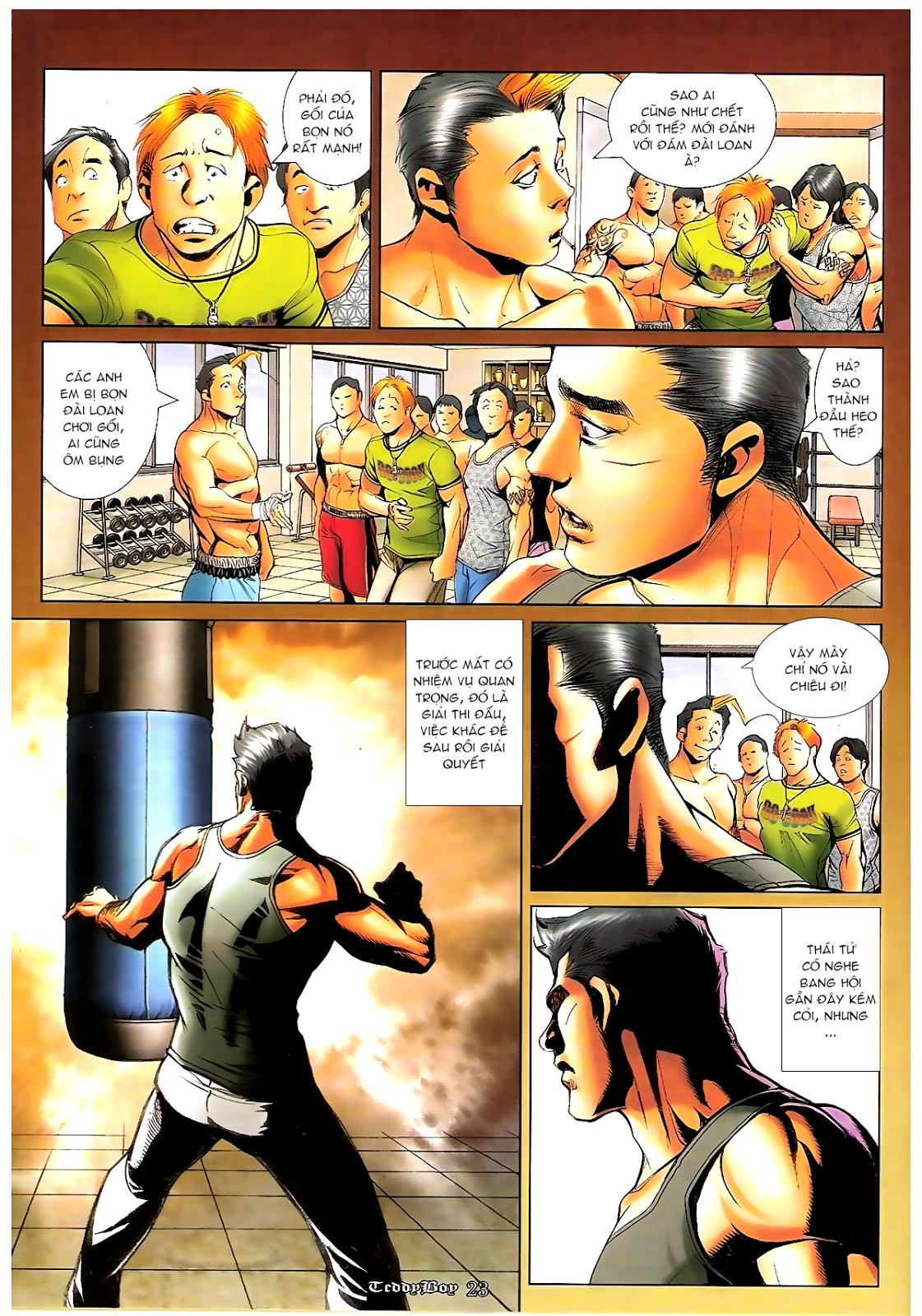 Người Trong Giang Hồ - Chapter 1197: Cùng đường - Pic 19