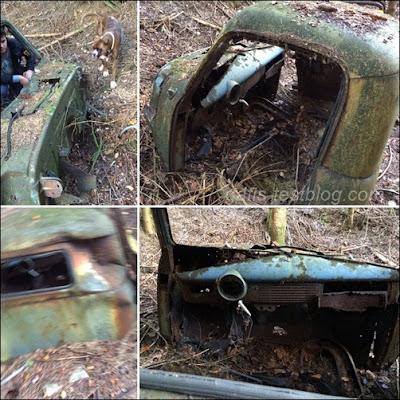 Verrotterer Wagen