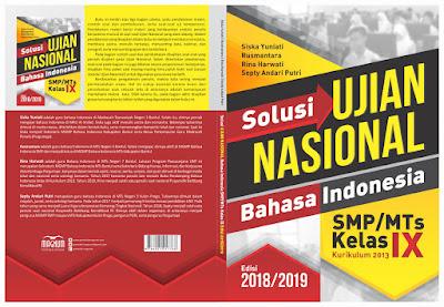 Guru MTs Negeri 3 Bantul Terbitkan Buku Ujian Nasional