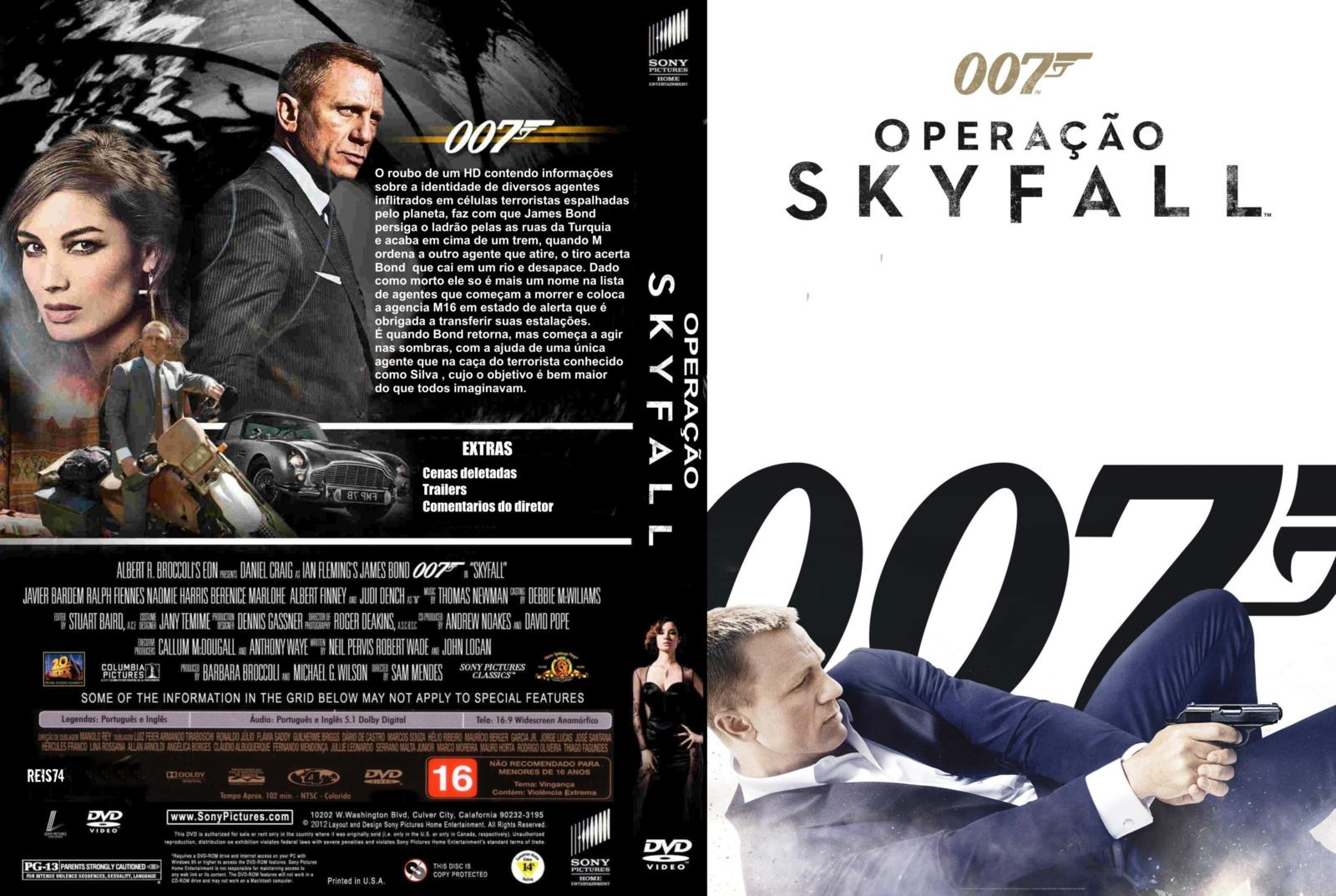 Skyfall Dvd Cove...007 Skyfall Dvd Cover
