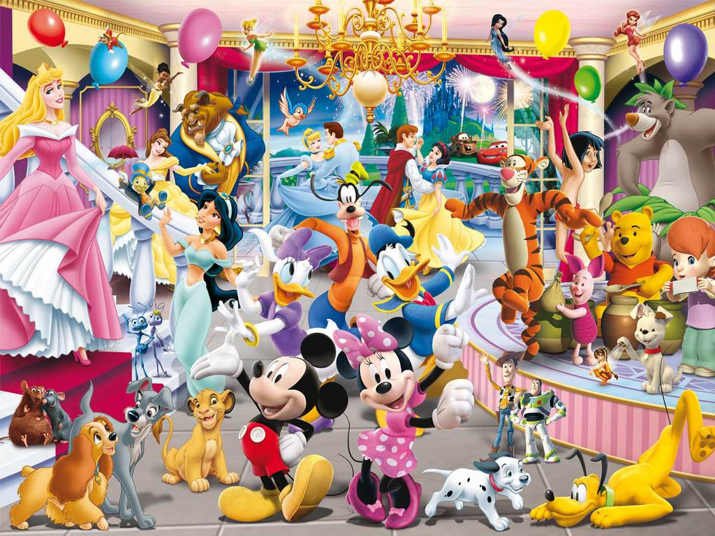 Disney Animated Movies Kids