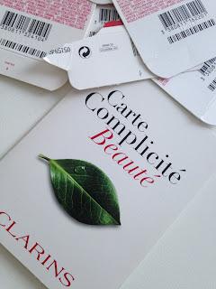 clarins carte fidelite complicite