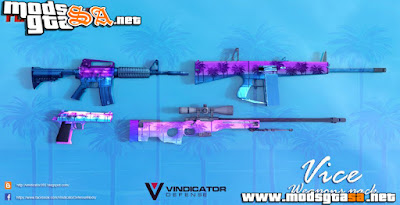 Pack de Armas do GTA: Vice City