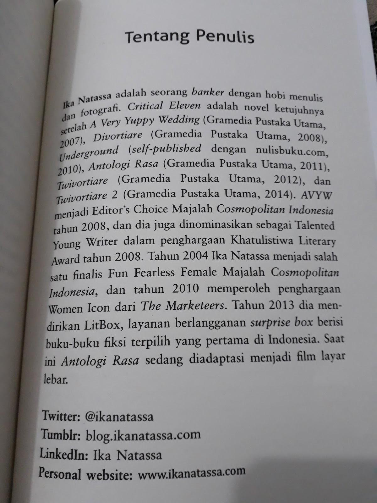 Kornelius Ginting Tanya Dan Ale Dititik Kritisnya Resensi Novel