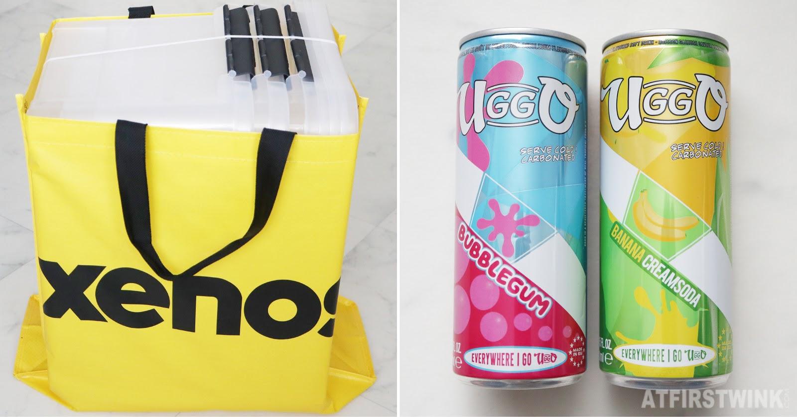 Xenos Rotterdam yellow shopper storage boxes uggo bubblegum banana cream soda