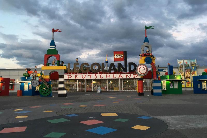 wejście główne Legoland Billund